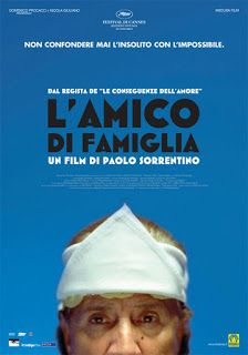 CINEFOLLIE: L'amico di Famiglia // This intriguing piece of cinema is showing at #ROSSOCINEMA #Chelsea this Bank holiday Monday 26 May.  For details http://www.rossopomodoro.co.uk/promotion/rossocinema/