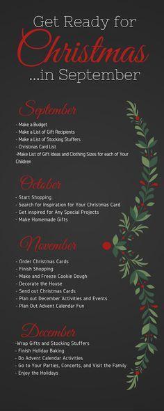 Get ready for christmas...in September
