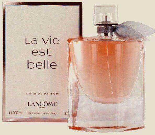 Lancome La Vie Est Belle L Eau De Parfum 3 4oz 100ml For Women Brand New Perfume Lancome Perfume Fragrances Perfume