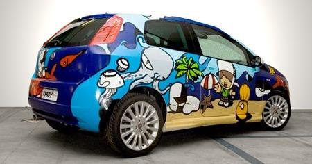 Car customization for Fiat