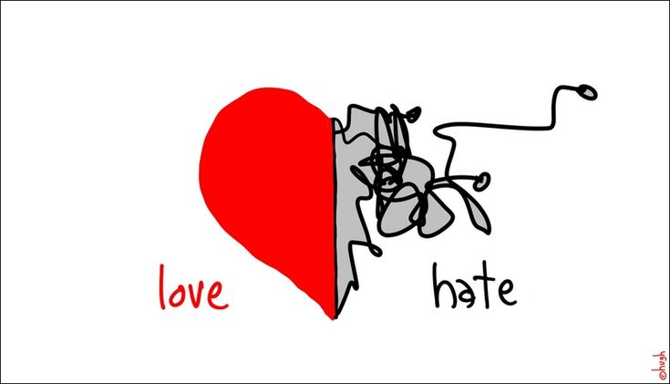 love hate | Frenzy of Noise: The SCARY Thin Line Between Love and Hate