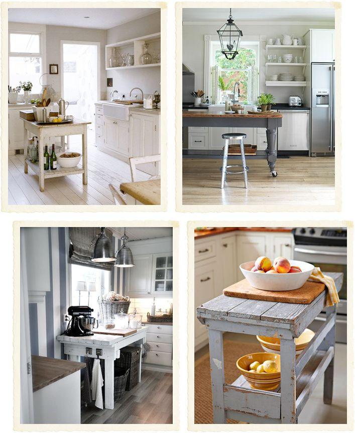 Shabby Chic Interiors: Bancone fai da te in cucina