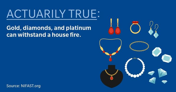 Some of your most expensive jewelry can survive a fire, which, for the typical home, averages 1,100 degrees Fahrenheit (just shy of liquid magma—no biggie). But just because it can take the heat, it doesn't mean it doesn't need coverage. Give me a call and let's go over your homeowner's policy soon. 816-380-7550. Posted 11/3/16.