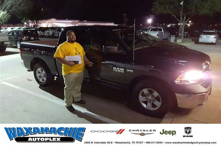 https://flic.kr/p/RupfxH | Happy Anniversary to Jerome on your #Ram #1500 from Shaun Schultz at Waxahachie Dodge Chrysler Jeep! | deliverymaxx.com/DealerReviews.aspx?DealerCode=F068