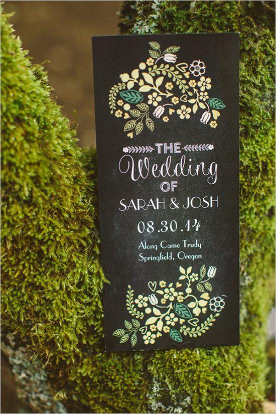 cute welcome wedding sign ideas @weddingchicks