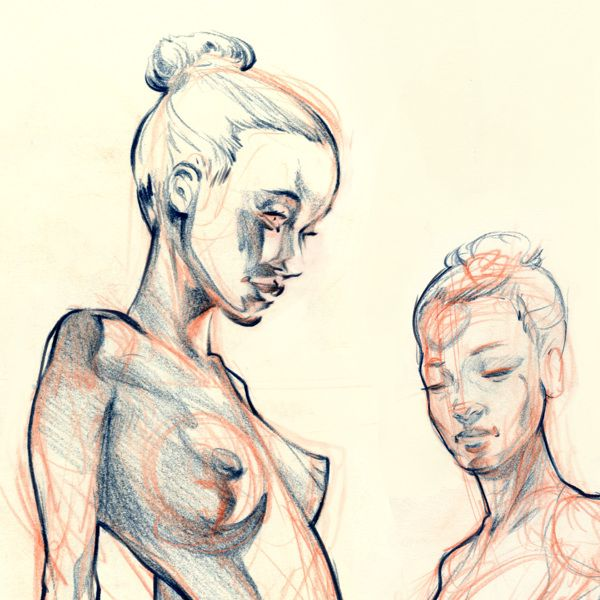 Figure Drawing 2 on Behance