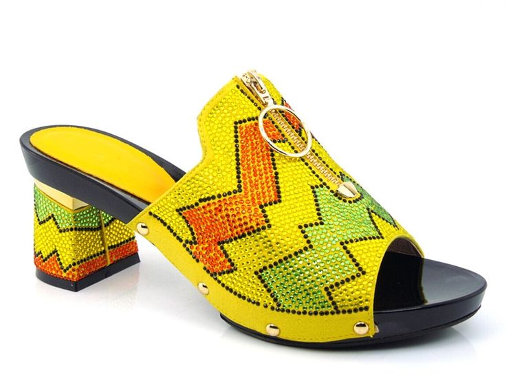 56.76$  Watch now - http://aligfg.worldwells.pw/go.php?t=32596620135 - Pretty design African Sandals sexy Lady Shoes with yellow,fashion PU Leather High gold Heels For Women!size 37-43!!!HYY1-8 56.76$