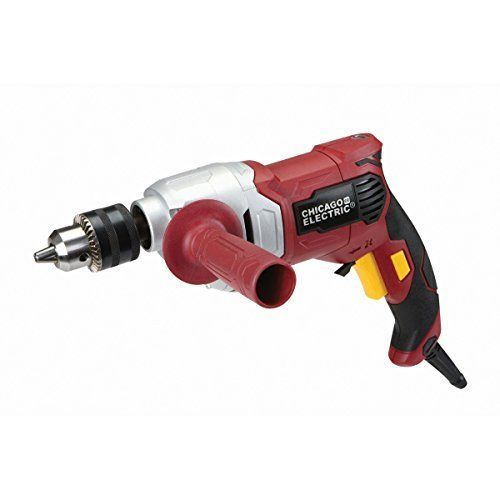 1/2 in. Variable Speed Reversible Heavy Duty Drill by Chicago Electric Power Tools