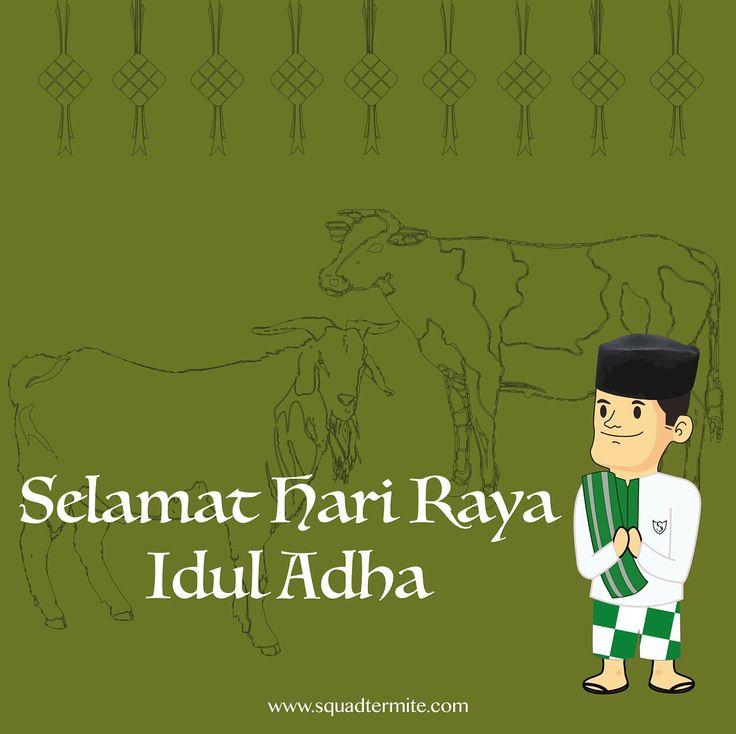 """Mr. SQUAD Want to say, We all Directors and Employees of CV. SQUAD want to say """"Happy Eid al-Adha 10 Zulhijjah 1463 H""""   Kami segenap Direksi dan Karyawan CV. SQUAD mengucapkan """"Selamat Hari Raya Idul Adha 10 Zulhijjah 1463 H""""  Best Regards, Made Kristoforus I P Suradja  Director of CV. SQUAD Indonesia   www.squadtermite.com"""