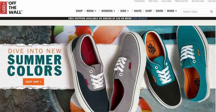 Почти все о покупках в американских интернет-магазинах. Интернет-магазины США. Инструкции.: - Обувь VANS. Как купить оригинальные vansы на офи...