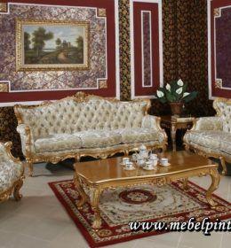 Set Sofa Kursi Ruang Tamu Mewah