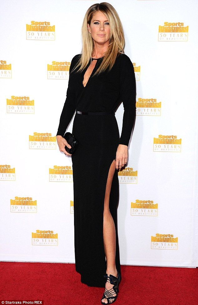 Rachel Hunter stunned as she attended the event for the 50th Anniversary of Sports Illustrated in LA on Tuesday