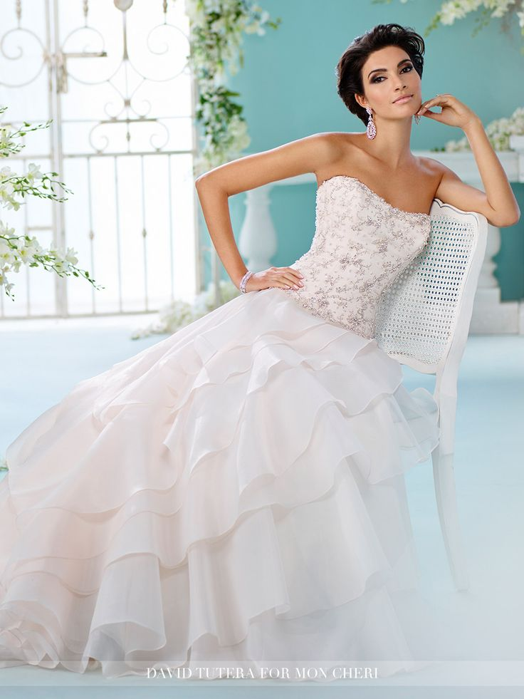 64 best DAVID TUTERA images on Pinterest | Wedding frocks, Wedding ...