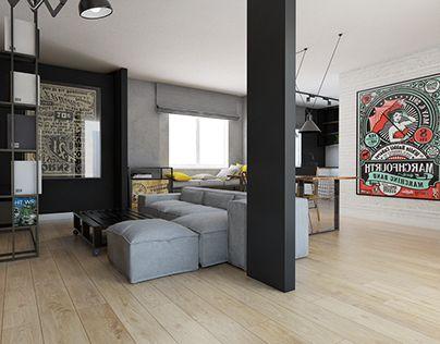 """Check out new work on my @Behance portfolio: """"Mieszkanie prywatne -ul.Cegielniana"""" http://be.net/gallery/32184741/Mieszkanie-prywatne-ulCegielniana"""