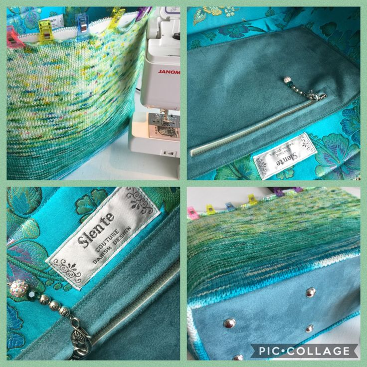 Behind the scenes: lovely details throughout the Fade & Speckle Bag