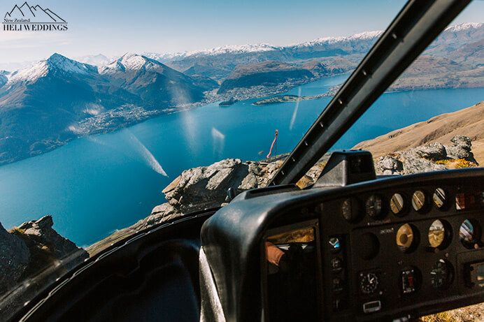 shooting inside the helicopter in Queenstown