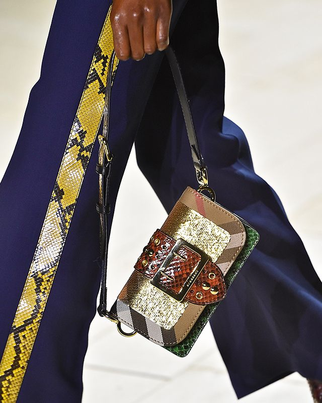 The Patchwork Bag previewed at the women's FW16 show