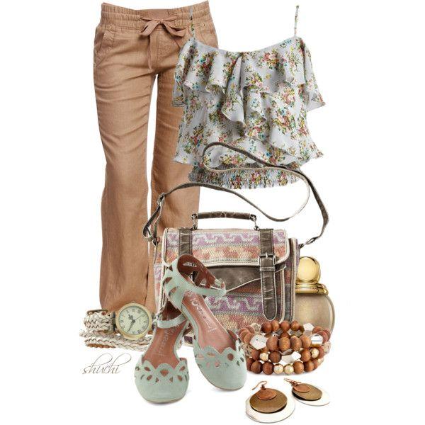 linen pant outfit
