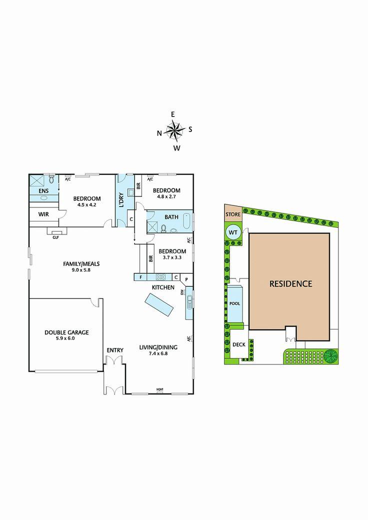house for sale 33 kumala road bayswater floorplan - Google Search
