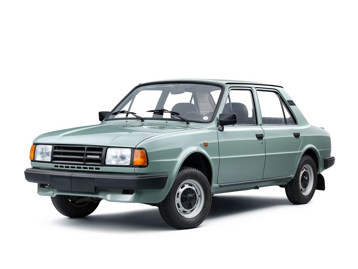 1988-90 Škoda 125 L