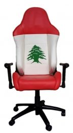 With true and bright patriotic colours, you'll feel right at ease with the Cedar office chair. All our office chairs are made of high quality leather and mechanisms. The bases of our chairs and casters are made from polished metal, NOT NYLON like most low quality office chairs on the market.