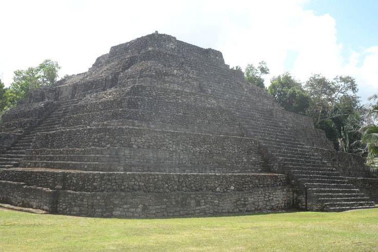 Mayan ruins at Chacchoben,MX