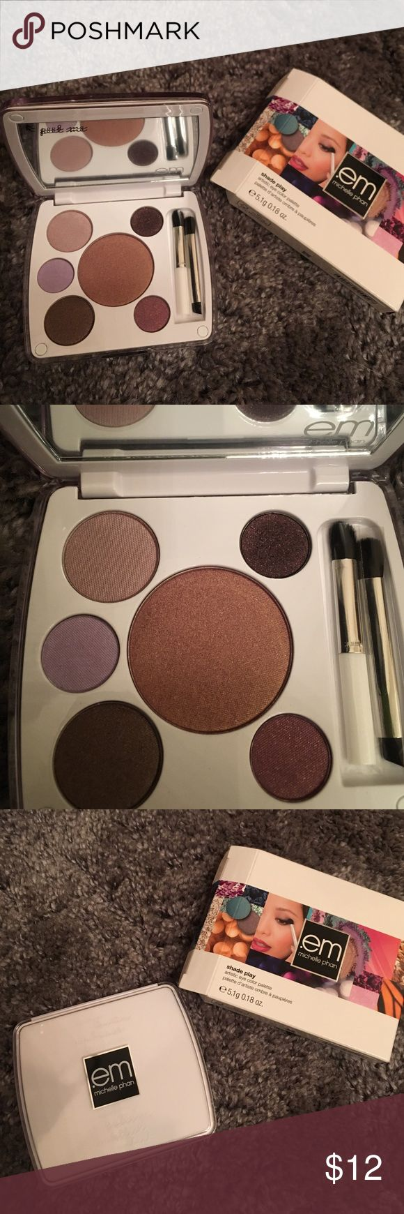 ".em Michelle Pham Eyeshadow Palette New, never used. The color theme is ""Shanghai Lavenders"". .em Michelle Phan Makeup Eyeshadow"