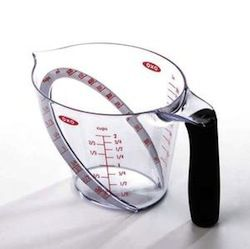 Ergonomic Measuring Cup No More Bending In Half To Get An Accurate Measurement Nerdvana
