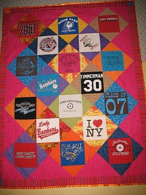 KeepsakeSewing: T-shirt Quilt