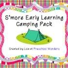 Tons of camping activities to use with you little ones!  This pack focuses on literacy and language activites.