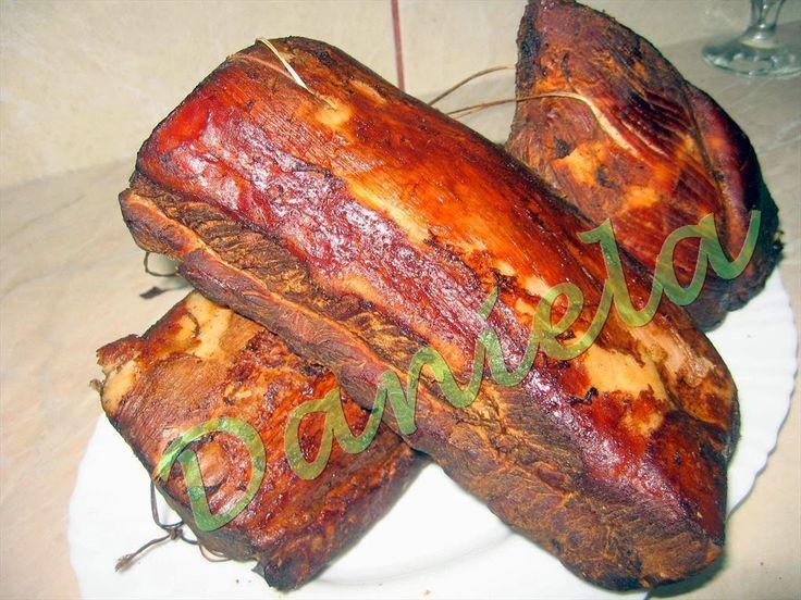 Daniela, bucatarie moldo-ardeleneasca: Cotlet de porc afumat - varianta pastrama