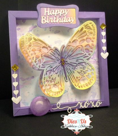 Dies R Us: A Butterfly Birthday Card