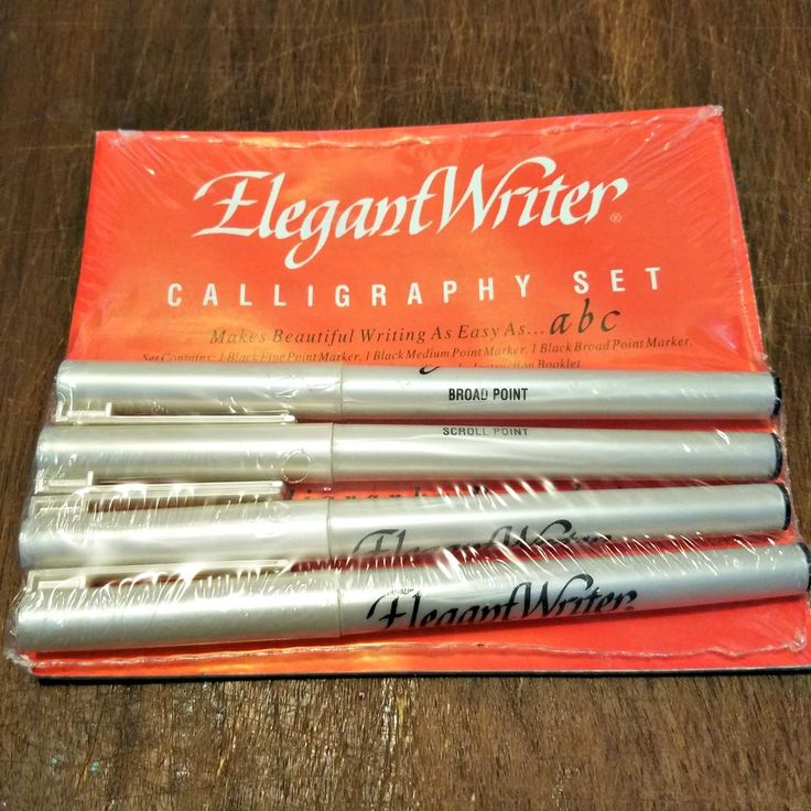 25 best ideas about calligraphy pen set on pinterest Elegant writer calligraphy pens