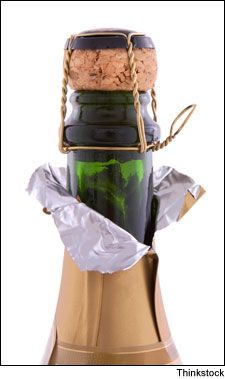 How to Serve Wine 101 #WineSpectator: Champagne Bottle