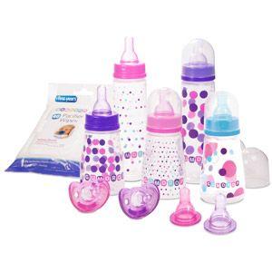 The First Years Gumdrop Baby Girl Bottle Starter Set