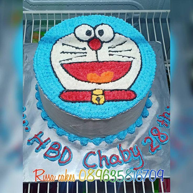 Doraemon cake.... . . Untuk info harga dan pemesanan