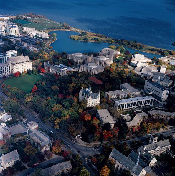Example of University of Salle campus. -Northwestern University Campus Evanston Illinois