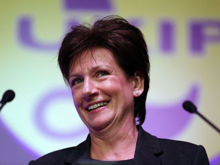 Congratulations to Diane James MEP on becoming the new leader of UKIP. (Big boots to fill)