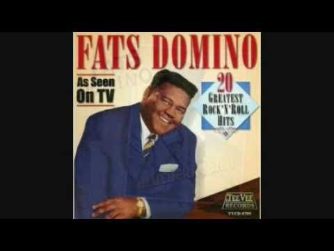 FATS DOMINO - AIN'T THAT A SHAME 1955.  Saxophone solo.  Whatever happened to saxophones in rock?