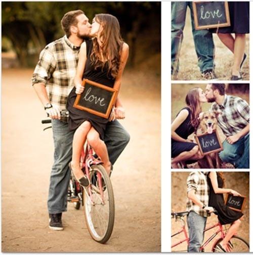 bikes sharon-s-engagement-pix-ideas