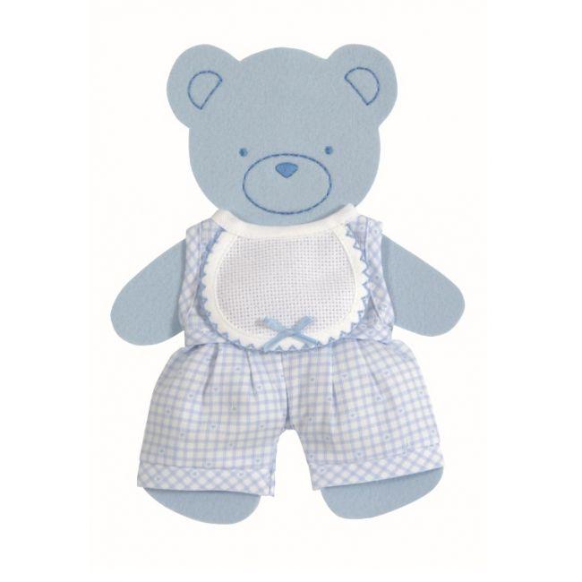Oso niño azul RS2384 - Bebé - DMC