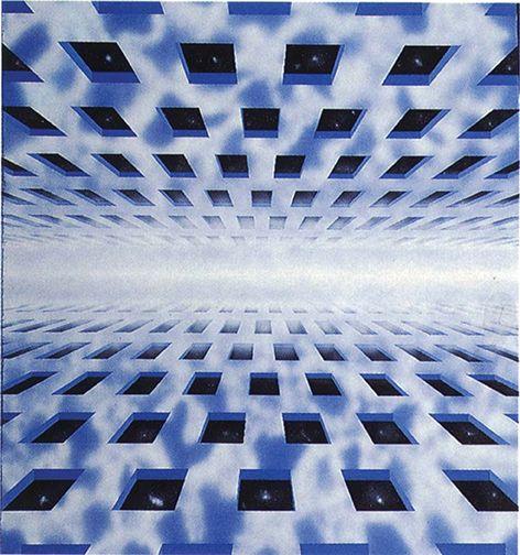 """""""Strutture"""" 1982, Fondazione Carlo Ludovico Ragghianti, Lucca"""