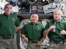 Soyuz Commander Mikhail Tyurin, Expedition 39 Commander Koichi Wakata and Flight Engineer Rick Mastracchio are beginning to pack cargo and personal supplies for their return to Earth. The home-bound crew will enter their Soyuz TMA-11M spacecraft for a 3.5 hour trip home next month.