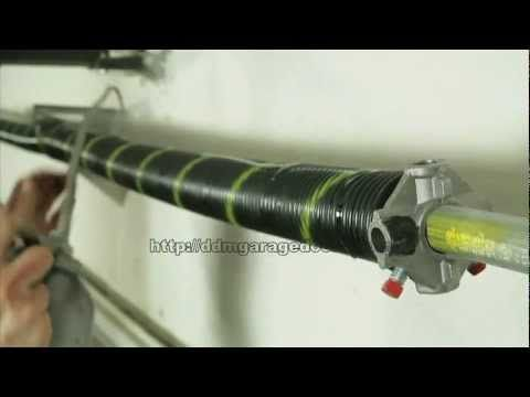 HOW TO REPLACE A GARAGE DOOR TORSION SPRING - A Free Do-It-Yourself Guide with Safety Tips and Tools  to Prevent Injury and Save Cash...  http://freestuffinder.org/Garage_Door.htm