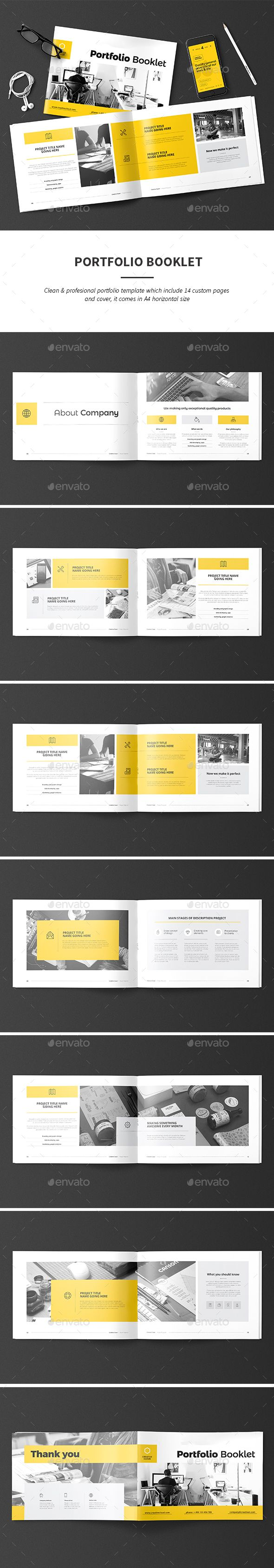 Portfolio - Portfolio Brochures | Download: https://graphicriver.net/item/portfolio/18730044?ref=sinzo