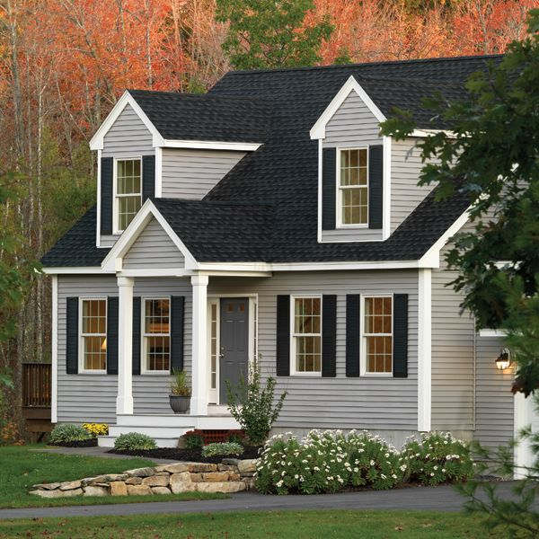 Color of siding and roof
