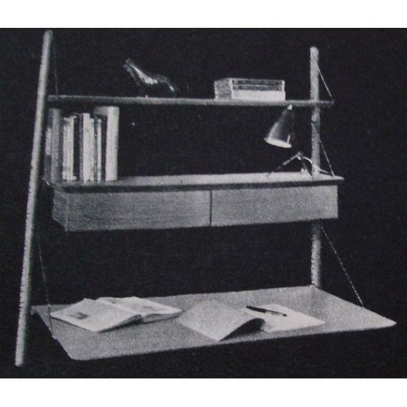 Etagere formant secretaire design vintage - cote argus - Price for Design