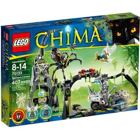 LEGO Chima Spinlyn's Cavern Building Set