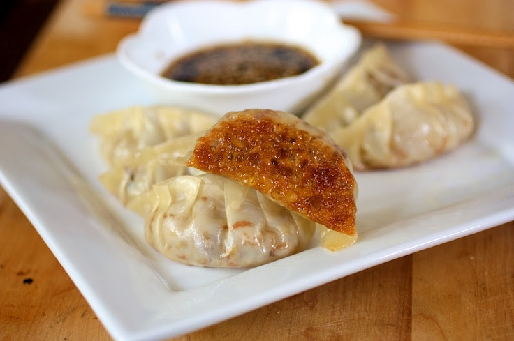 Veggie Potstickers-love these and so simple!