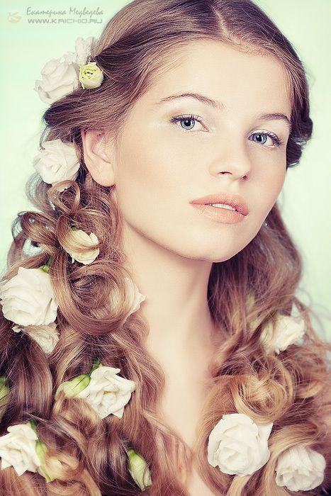 Flowers: Hairstyles, Floral D, Glamour Shots, Art, Floral Fantasies, Floral Madness, Flowers, Floral Hair